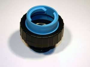 Stant Gas Cap Adaptor Light Blue