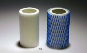 Coalescing filter element for emissions test units