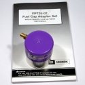 Waekon Purple Gas Cap Adaptor kit includes application guide