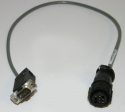 GenI Emissions Tester OBD interface cable (vetronix old)
